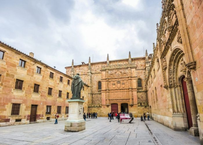 Famous University of Salamanca, Castilla y Leon region, Spain